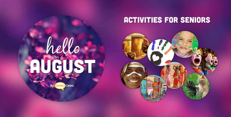August Events Amp Ideas Activities Calendar