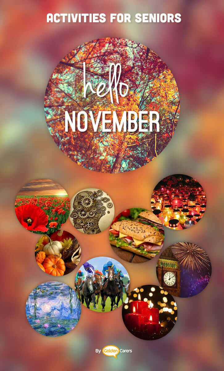 november events ideas activities calendar On november crafts for seniors