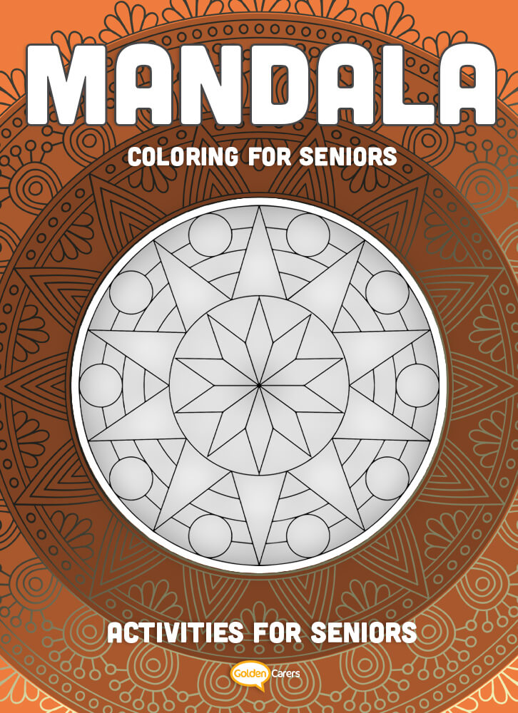 A lovely mandala template for coloring!