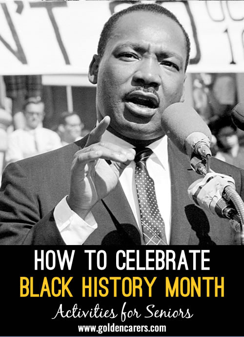 Black History Month is observed on different months around the world. This article is suitable for North Americans celebrations.