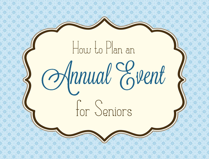 Planning a special event for seniors can be a wonderful and challenging undertaking. Your creativity, commitment and enthusiasm will enable you plan a fabulous day to be remembered. In this article we cover everything from planning, task delegation, checklists, action plans, and more!