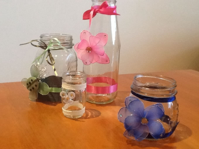 Vases are always in short supply at many facilities. This activity provides your clients with a lovely useful vase made from relatively inexpensive items.