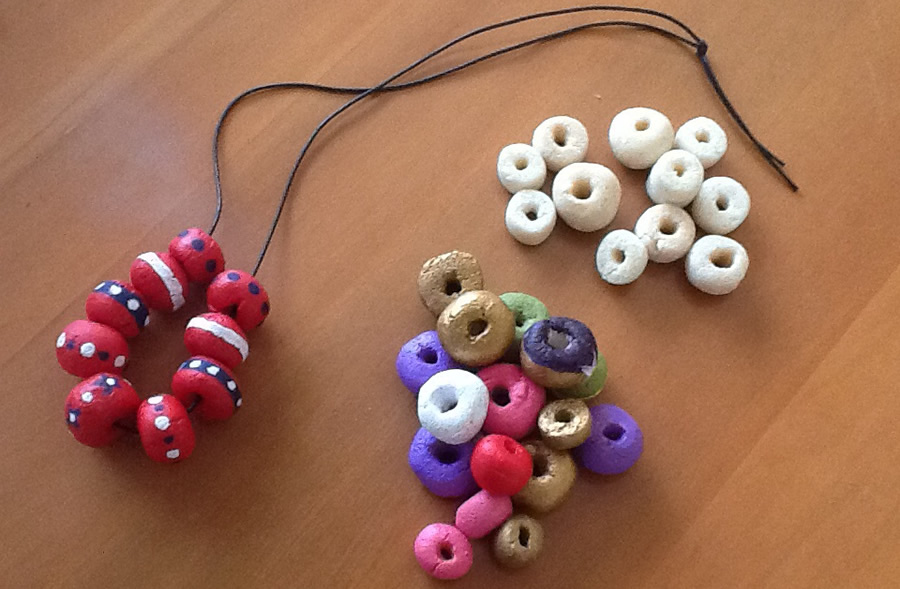 When l did this activity the residents wanted to make beads that would match the clothes they wore.