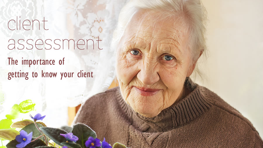 client assessment  getting to know your client
