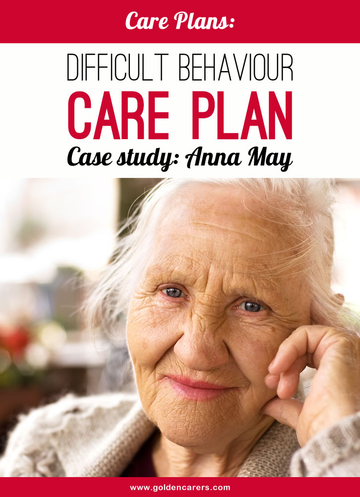 Anna is a 79 year old lady suffering from the 2nd stage of dementia. She seems to understand what staff say but is very slow to respond. She is restless most of the day, sitting for only minutes at time...