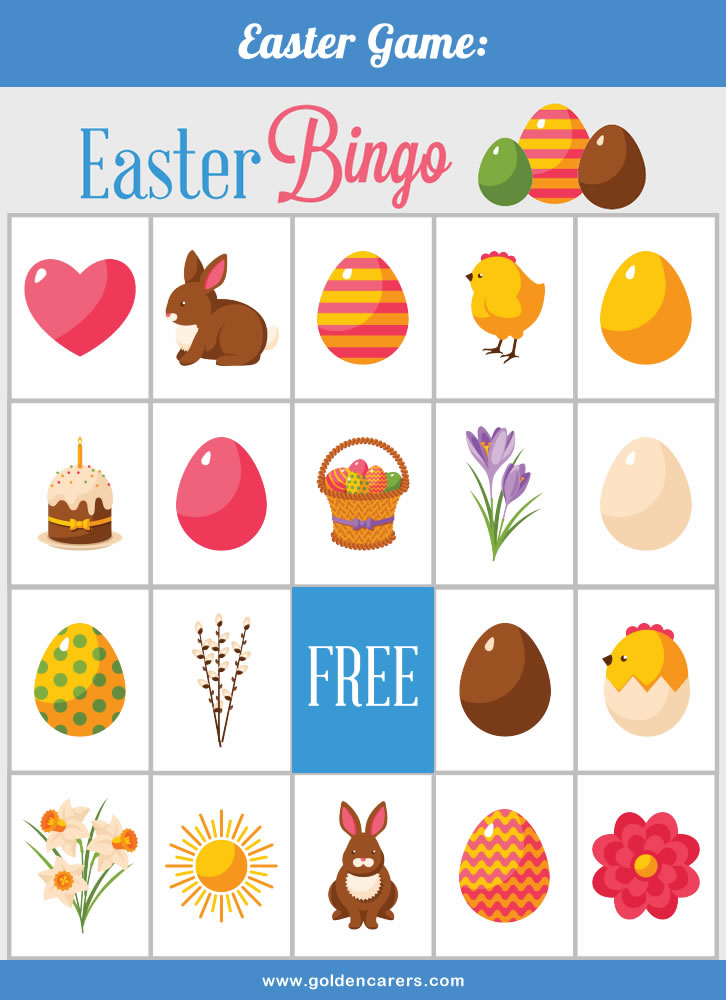 A beautiful Easter themed Bingo Game to enjoy! Download, print & laminate.