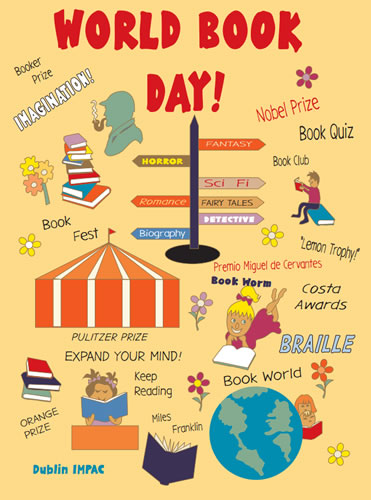 World Book Day Poster for printing.