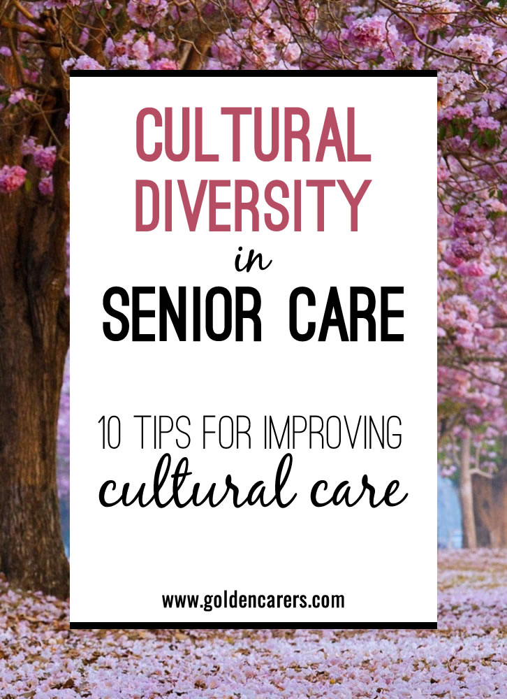 Cultural diversity is an important factor influencing senior care.  Providing culturally sensitive care is essential to supporting the elderly from diverse cultural backgrounds.
