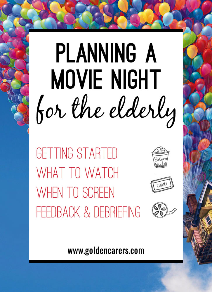 If you don't already run a regular 'Movie Night' at your facility, try it out! All you need is a large screen, some good speakers, and of course popcorn and ice cream to add to the cinematic experience!