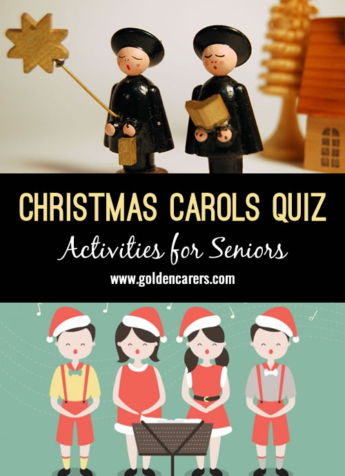 A fun Christmas carols themed quiz to enjoy!