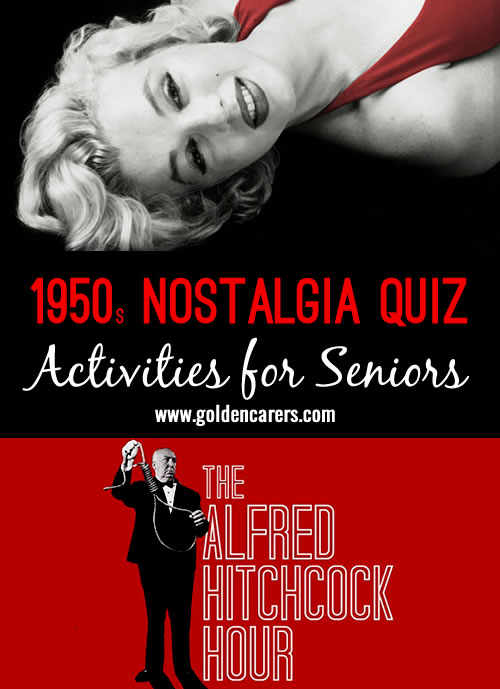 Remembering the 1950s quiz!