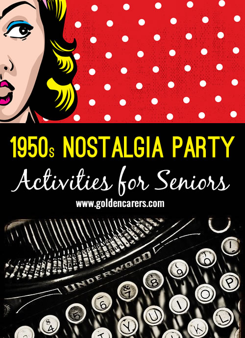 A 1950s nostalgia party is a wonderful opportunity to have fun and reminisce about days gone by!