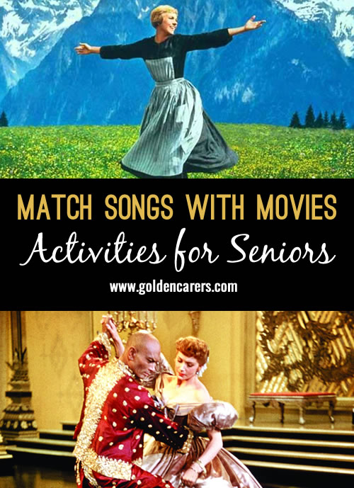 Match Songs with Movies