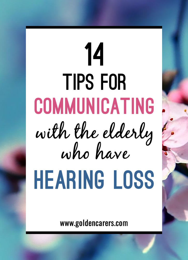 Age-related hearing loss in elders is a common chronic condition.