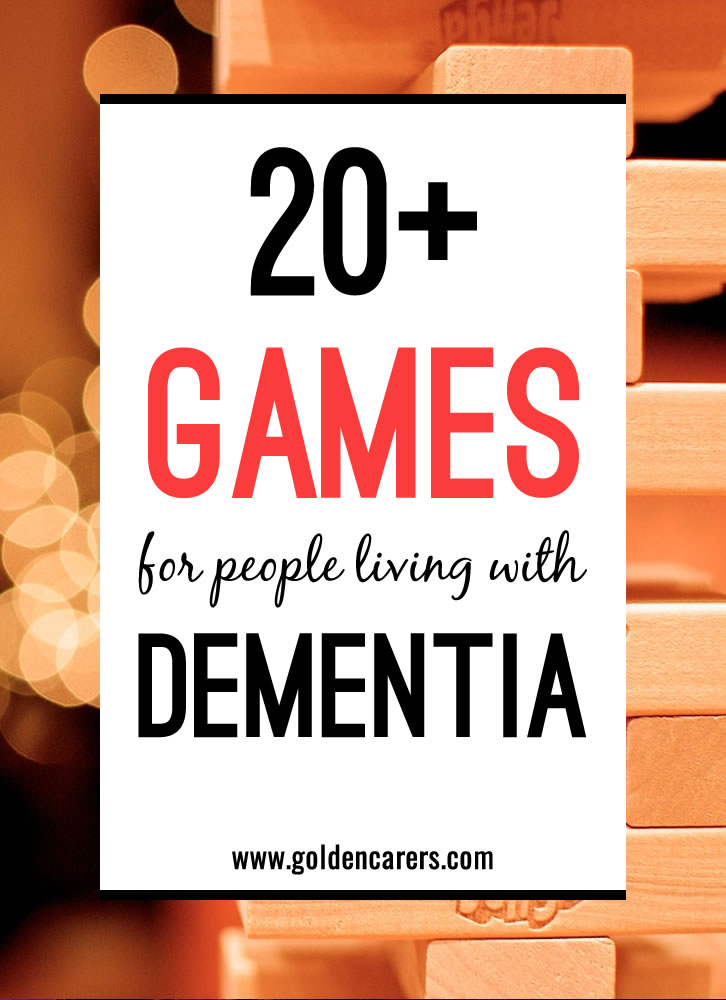 photo relating to Printable Tenzi Cards identified as Video games for Individuals Dwelling with Dementia