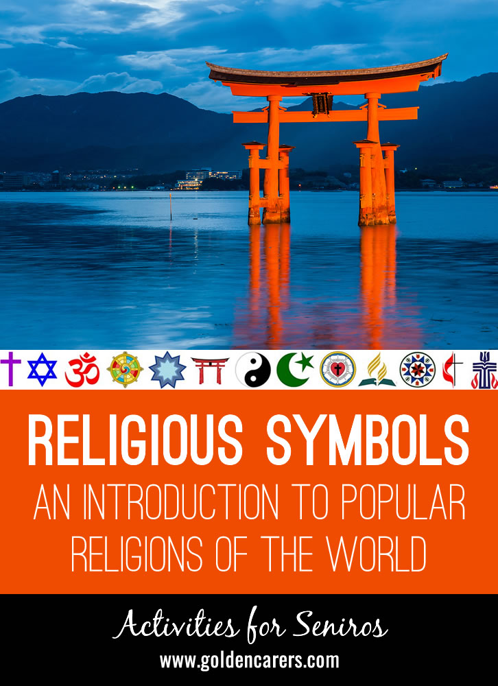 Our world is a melting pot of religion, culture and languages. Religious respect and tolerance is essential for peaceful co-existence. Entertain, educate (yourself and others), and advocate for pluralism by introducing residents to the basics of exotic religions, and encourage discussion.