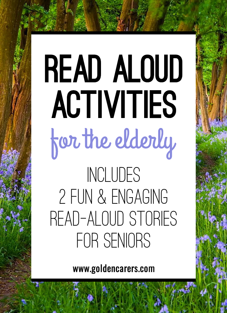 Read Aloud Activities For The Elderly