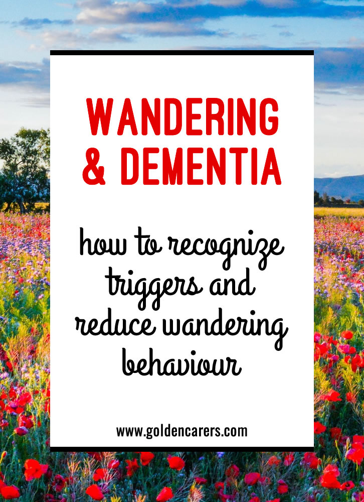 People living with dementia can display many behavioral traits that are difficult to manage, one of the most common and challenging is wandering.