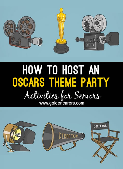Hollywood's 89th Academy Awards are coming soon. They will be televised in more than 225 countries worldwide.  Celebrate the occasion with a party!