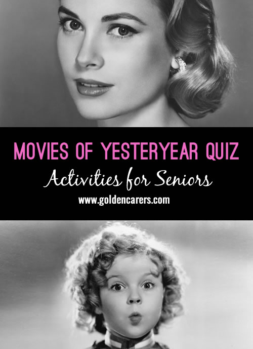 Movies of Yesteryear Quiz
