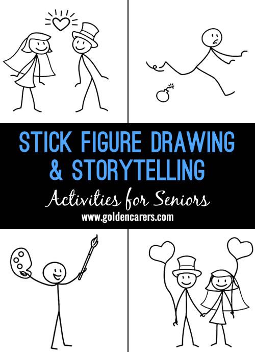 Stick Figure Drawing & Storytelling