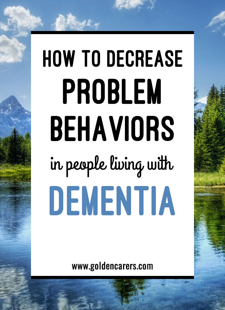 For any staff member, dealing with a person who has dementia, especially those with problem behaviors, can be challenging at times. How can you make the best of any situation?
