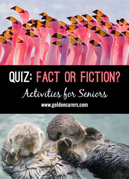 This is a fun and stimulating quiz debunking some long-held myths!