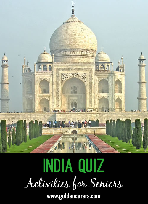 What is the capital of India?India has one of the Seven Wonders of the World, what is it?