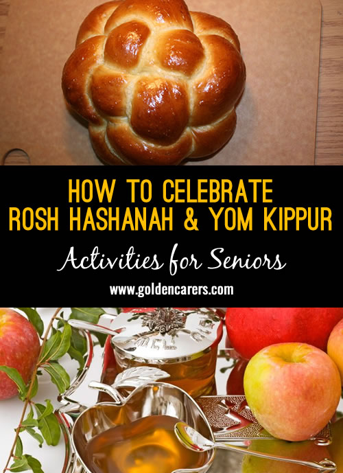 Rosh Hashanah and Yom Kippur, often called the High Holidays, are the two most holy days of the year for those who are Jewish.