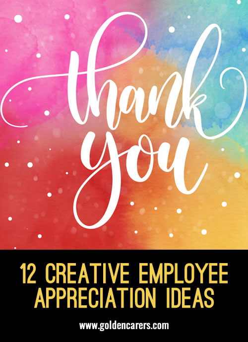 Employee recognition is all about acknowledging the dedication and hard work of individuals and teams. It's about making people feel appreciated and letting them know that without them you would be worse off.