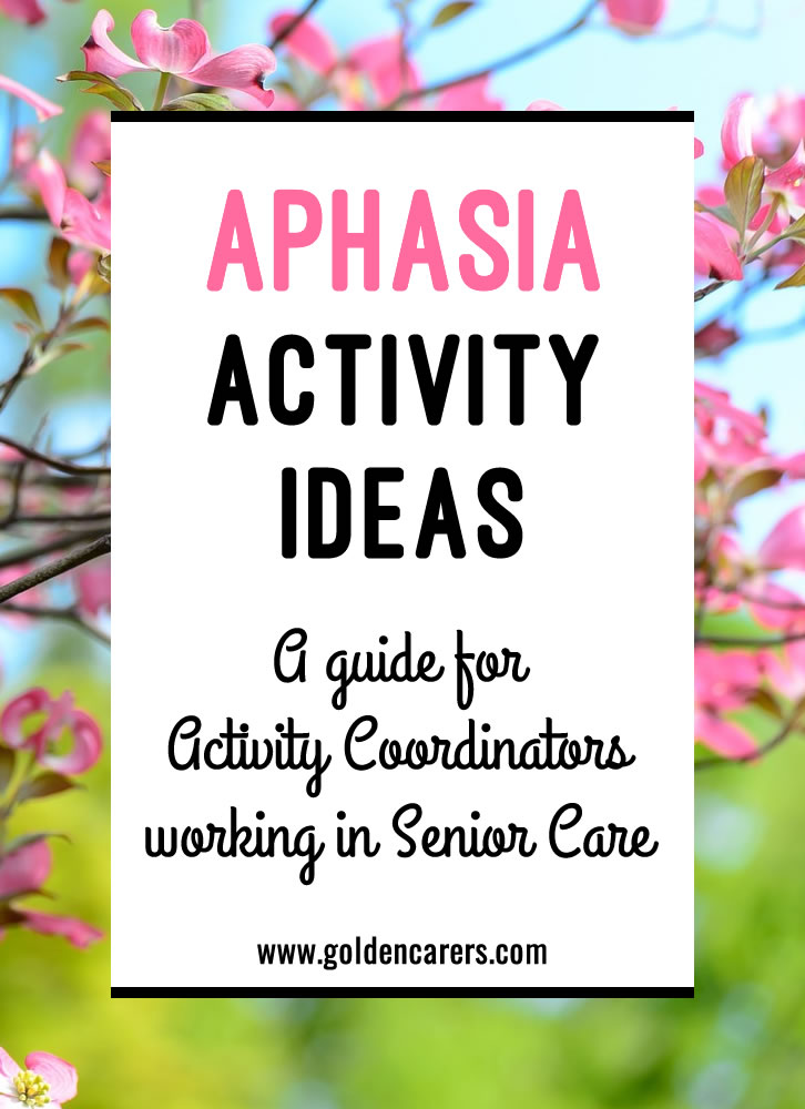 Aphasia is a communication disorder that results from damage or injury to the brain. A person with aphasia may have trouble understanding, speaking, reading, or writing.
