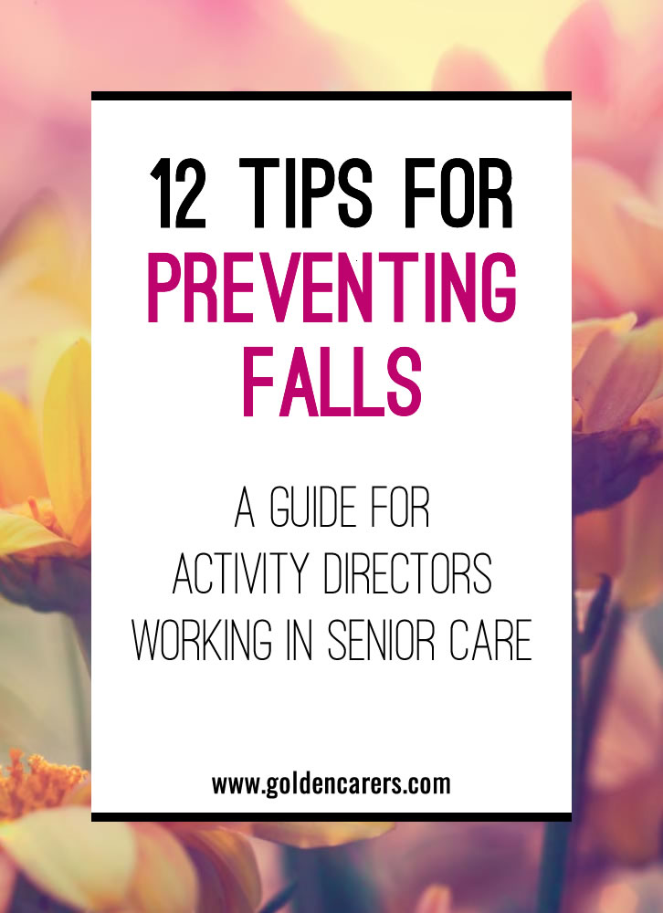For the elderly, quality of life can be significantly reduced following a fall. Although it is impossible to prevent all falls, there is much that can be done to reduce the risks.