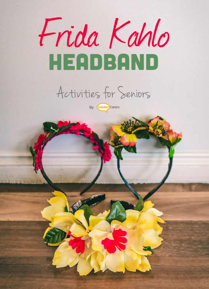 Have fun making these gorgeous Frida Kahlo inspired headbands with your clients!