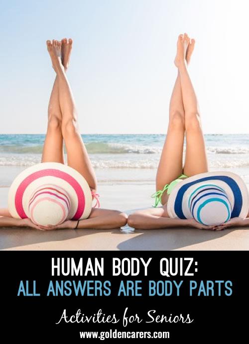 Human Body Trivia Quiz