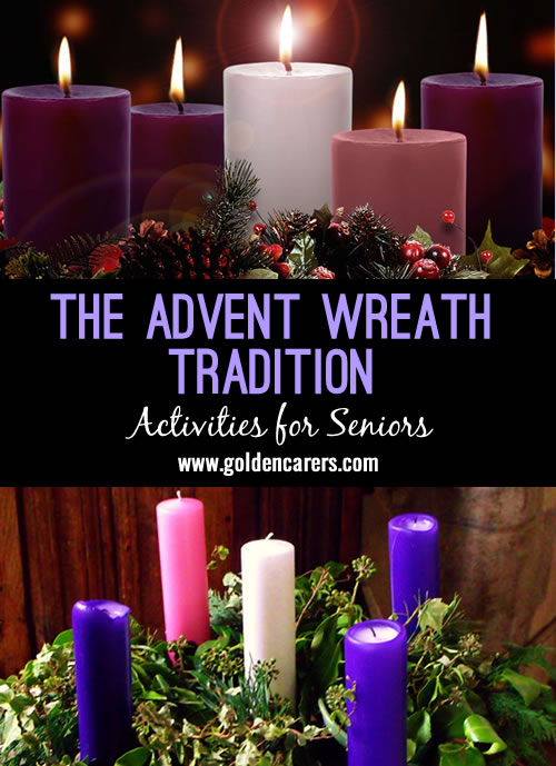 the advent wreath tradition. Black Bedroom Furniture Sets. Home Design Ideas