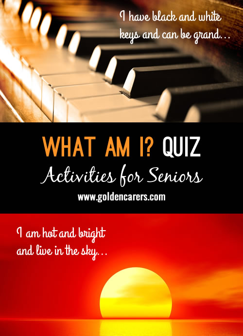 What Am I Quiz #2