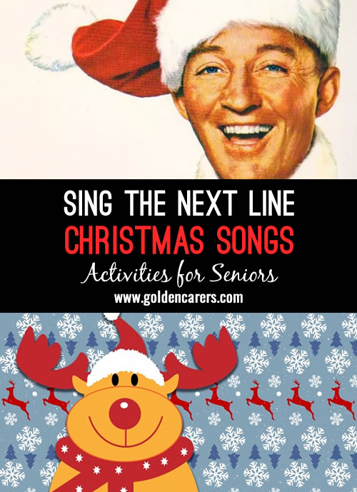Get into the Christmas spirit with this music quiz featuring over 20 well known Christmas carols, hymns and songs.
