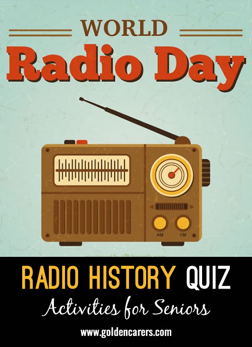 Are you an early radio 'historian'? See how many questions you can answer!