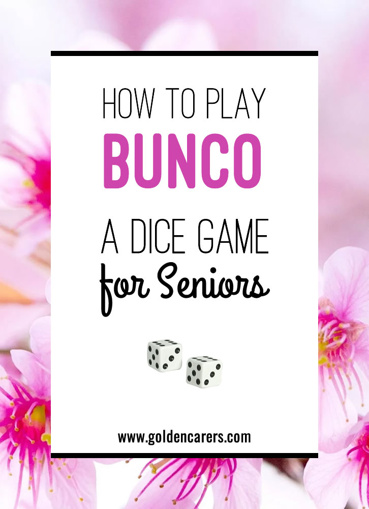 Bunco, pronounced