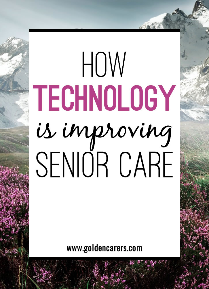 The healthcare sector is going through unprecedented change at the moment, mainly due to digital disruption. Technology can improve the way we care for the senior generation in a multitude of ways, whether it's ensuring safety, top-notch medical care or assisting in independent living.