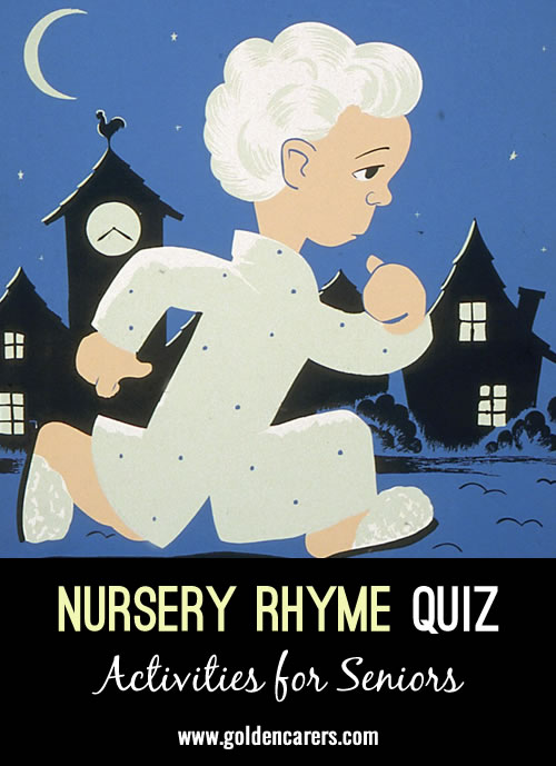 Answer the questions and sing a few lines of the song.