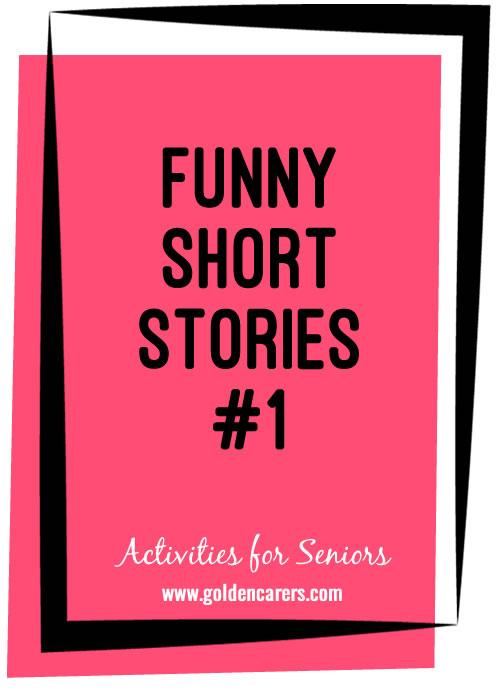 Funny Short Stories #1