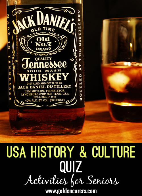 Test your knowledge of the history and culture of United States of America!