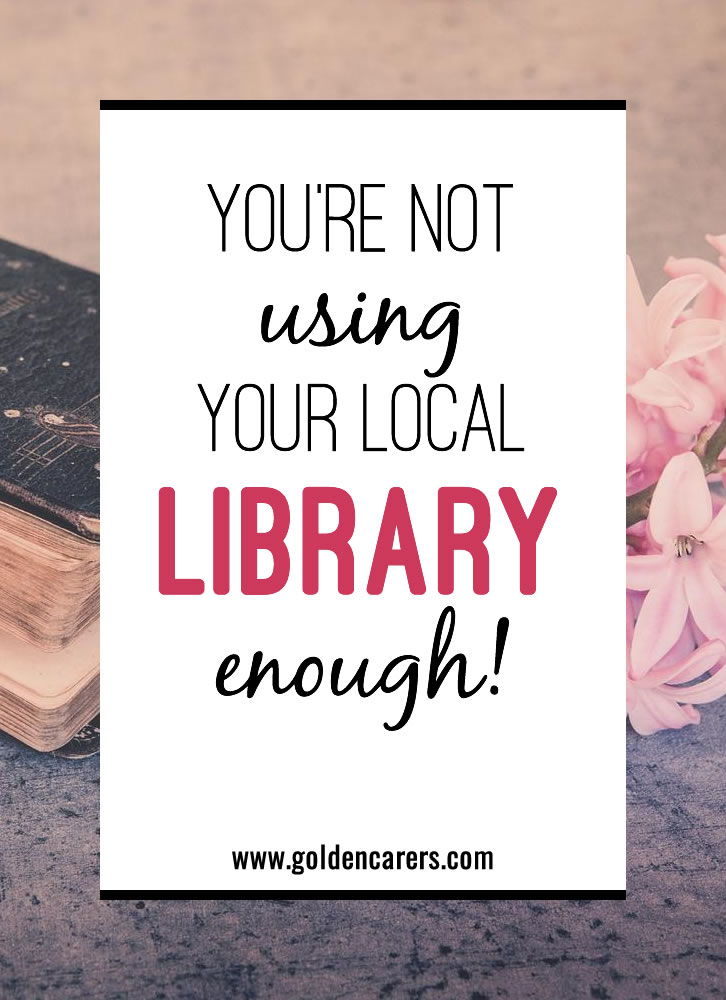 Your local library is a haven for free activity supplies, easy activity ideas, 1:1 interventions, and endless inspiration for your busy community. Learn how to utilize this community resource even more than you already are.