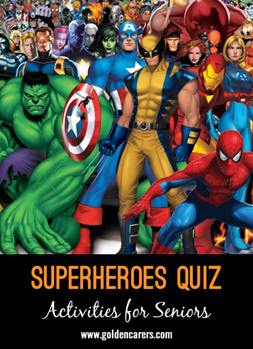 How well do you know your superheroes?!