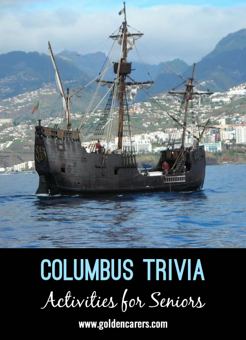 Christopher Columbus Trivia