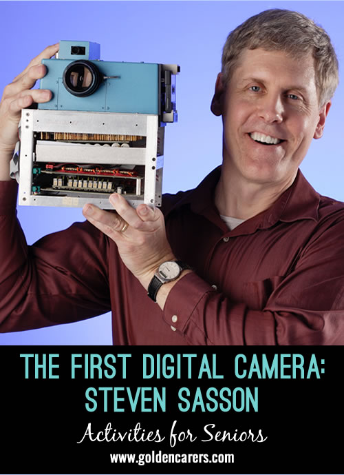 The First Digital Camera - Steven Sasson