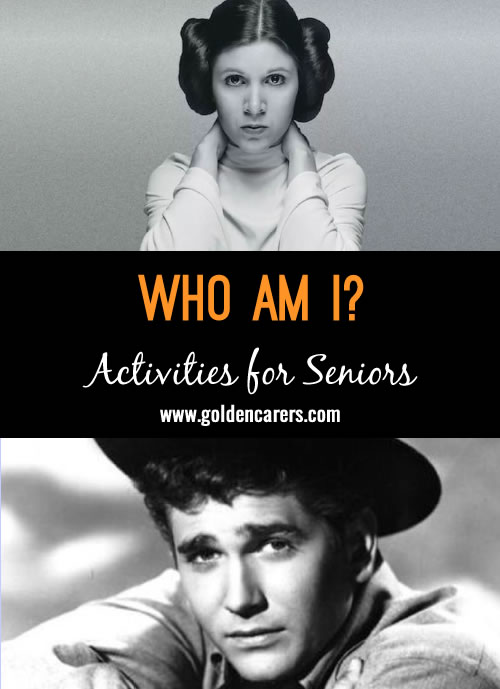 This activity features 8 famous people born in October!