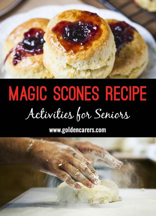 Cooking Magic Scones