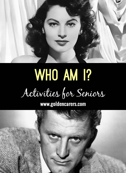 This activity features 11 famous people born in December!